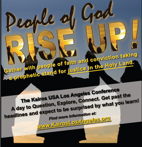 Kairos USA Los Angeles Conference Poster