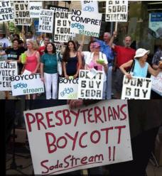 Presbyterians boycott Soda Stream